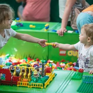 LEGO® Store Show - Programok - LEGO® DUPLO® játszóház