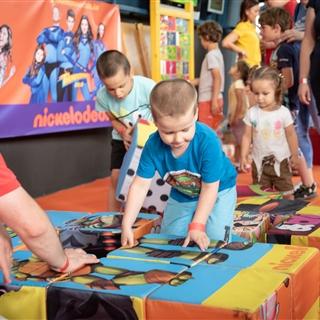 LEGO® Store Show - Programok - Nickelodeon kocka kirakós