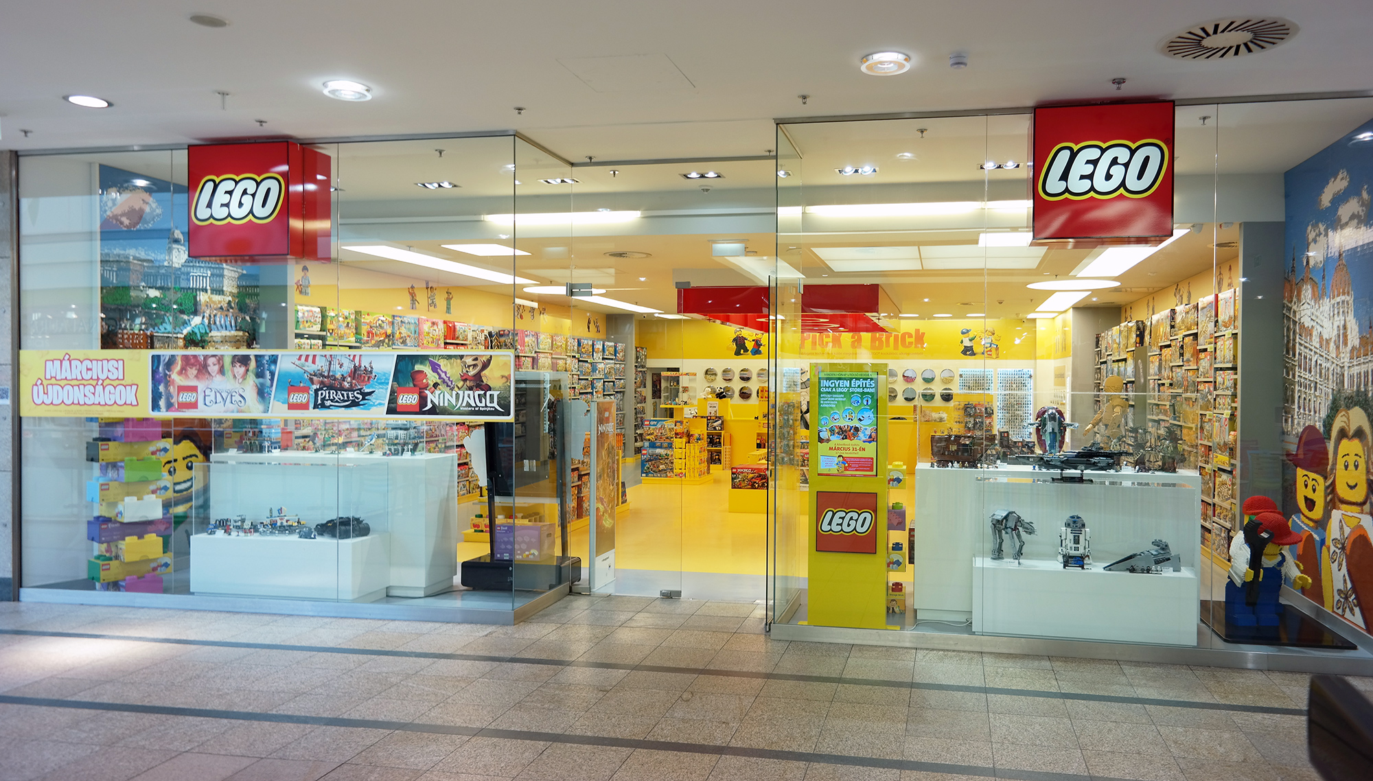 LEGO® Store Show - Galéria - Lego Store Árkád 251ca535c2